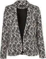 Co-Ord Lace Shadow Blazer