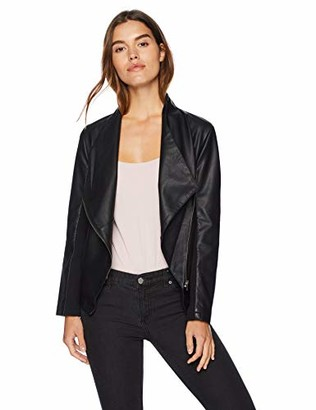 BB Dakota Women's Gabrielle Vegan Leather Jacket Faux