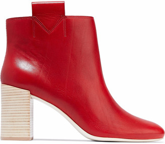 Mercedes Castillo Bailee Leather Ankle Boots