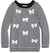 Kate Spade Girls' Striped Bow Sweater - Sizes 7-14