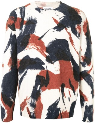 Kenzo Camouflage Print Jumper