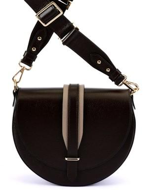Hiva Atelier Arcus Leather Bag Chocolate & Sand