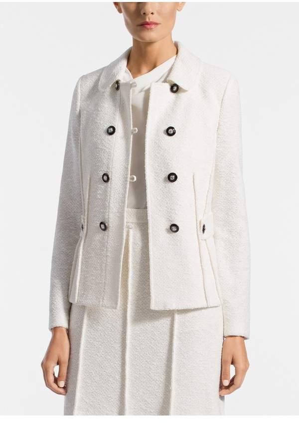 St. John Belle Du Jour Knit Collar Jacket
