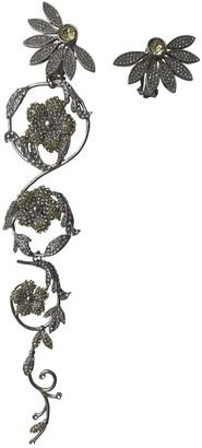 Burberry Silver Metal Earrings