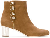 Malone Souliers Effie ankle boots - women - Leather/Suede - 36