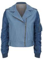 Sandro Brixton Leather Jacket