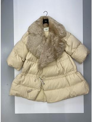 Fendi Beige Cotton Coat for Women