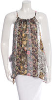 Isabel Marant Silk Printed Top
