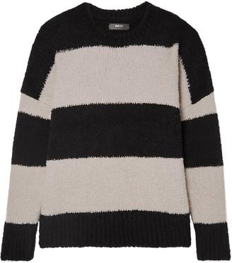 Amiri Oversized Striped Wool-blend Sweater