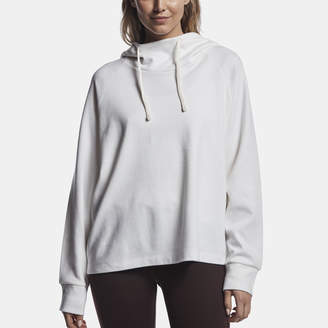 James Perse OVERSIZE COTTON FLEECE HOODIE