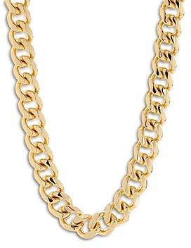 Luv Aj Seraphina Bold Chain Necklace, 16