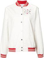 Mira Mikati back patches bomber jacket - women - Cotton/Nylon - 38