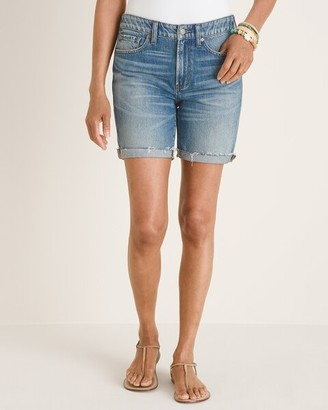 Chico's Relaxed Cotton Vintage Shorts