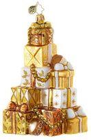 Christopher Radko Golden Gift Mountain Figurine