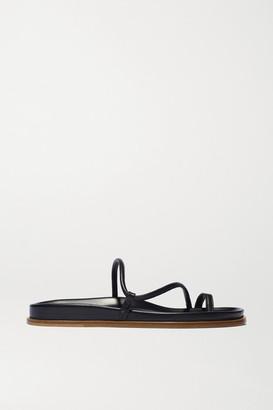 Emme Parsons Bari Leather Sandals - Black