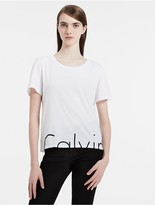 Calvin Klein Slim Fit Split Logo T-Shirt