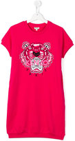 Kenzo print T-shirt dress - kids - Cotton - 14 yrs