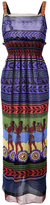 Mary Katrantzou Hemera maxi dress - women - Silk - 12
