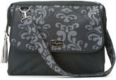LILLYBIT LillyBit Gray Damask Diaper Bag