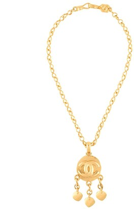 Chanel Pre Owned 1995 dangle CC pendant necklace