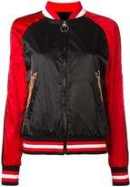 Philipp Plein Pink bomber jacket - women - Polyamide/Polyester - S