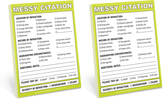 Knock Knock Messy Citation Nifty Notes - Set of Two