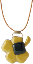 Marni Leather Necklace with Pendant