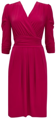 Wallis **Jolie Moi Wrap Front Dress