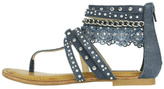 Not Rated Wilma Denim Sandals