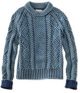 cotton fishermans sweaters - ShopStyle