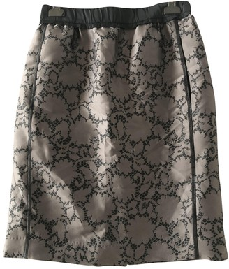Louis Vuitton Anthracite Polyester Skirts