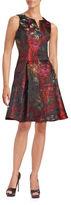 Chetta B Sleeveless A-Line Dress