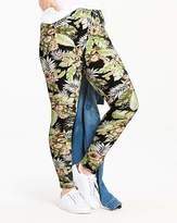 Fashion World Palm Print Jersey Leggings