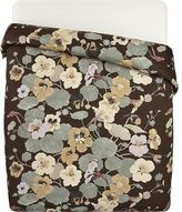Crate & Barrel Iso Krassi Brown King Duvet Cover