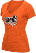 Reebok Women's Philadelphia Flyers Laced Up T-Shirt