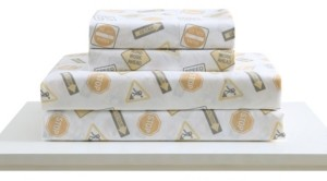 Morgan Home Mhf Home Kids Construction Land Full Sheet Set Bedding
