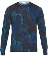 Etro Floral-print Wool-blend Sweater