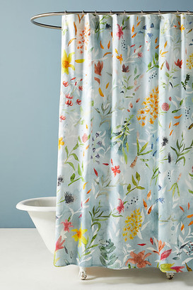 Anthropologie Bette Shower Curtain By in Assorted Size 72 X 72