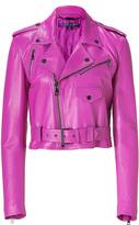 Ralph Lauren Hyacinth Glove Leather Jacket