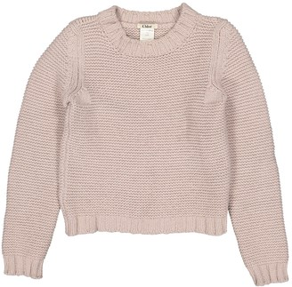 Chloé Purple Wool Knitwear for Women Vintage