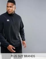 Canterbury Of New Zealand Canterbury Plus Team Half Zip In Black E553363-989