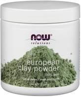 NOW European Clay Powder by 6oz Powder)