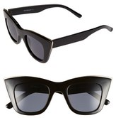 A. J. Morgan Women's A.j. Morgan 'Ginger' 48Mm Sunglasses - Black