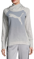 Puma Cat Fleece Cotton Hoodie