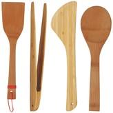 Panda Set of 4 bamboo utensils