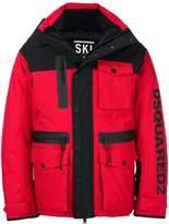 DSQUARED2 Ski padded jacket