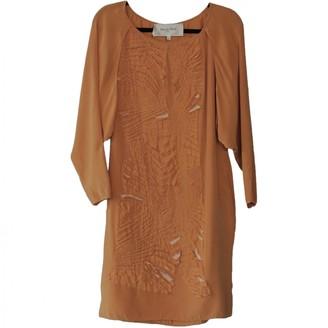 Rue Du Mail Orange Dress for Women