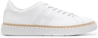 Hogan Flat Low Top Sneakers