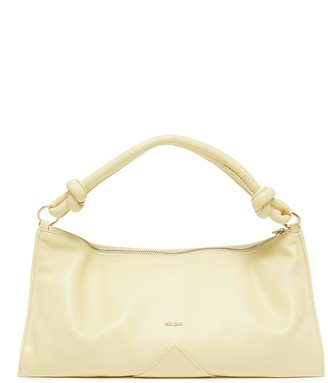 Cult Gaia 'Hera' Logo Plaque Knot Handle Slouchy Leather Bag