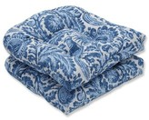 Ophelia Tucker Resist Azure Indoor/Outdoor Rocking Chair Cushion & Co.